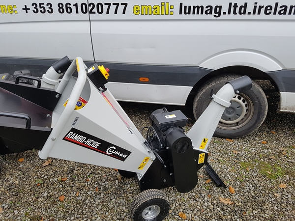 Lumag wood chippers for sale in Ireland